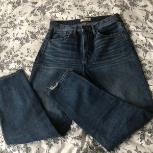 Madewell momjeans size 28 Tall